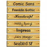 Wooden House Sign, 4 Sizes